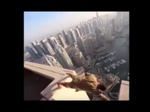 PARKOUR ON HIGH BUILDINGS