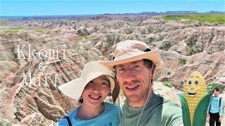 【사우스다코다 여행 1편】 세계유일 옥수수성 · 배드랜…