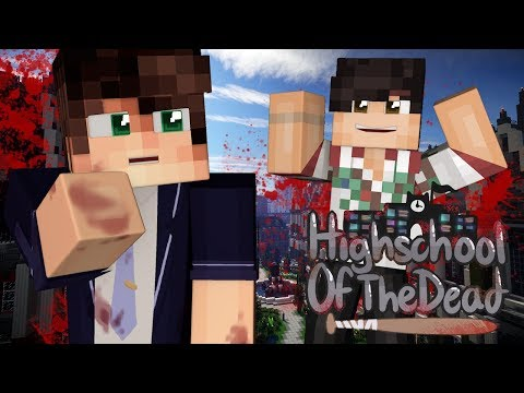 """""""PANIC PARTY AT MY HOUSE!"""" // High School Of The Dead Roleplay EP02 [Minecraft Zombies Roleplay]"""