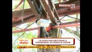 CCTV catches ambush in Ilocos Norte