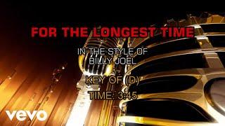 Billy Joel - For The Longest Time (Karaoke)
