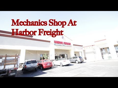 Shopping at Harbor Freight New Tools! Mustang Build Vlog 2