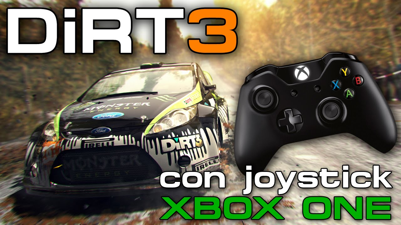 dirt 3 jugando con joystick xbox one youtube. Black Bedroom Furniture Sets. Home Design Ideas