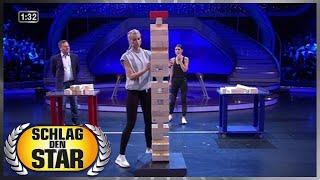 Spiel 15 - Der Holzturm - Schlag den Star