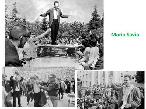 #6 1960s   The New Left Begins   SDS and free Speech Movement    Narrated PPoint Slides 9min