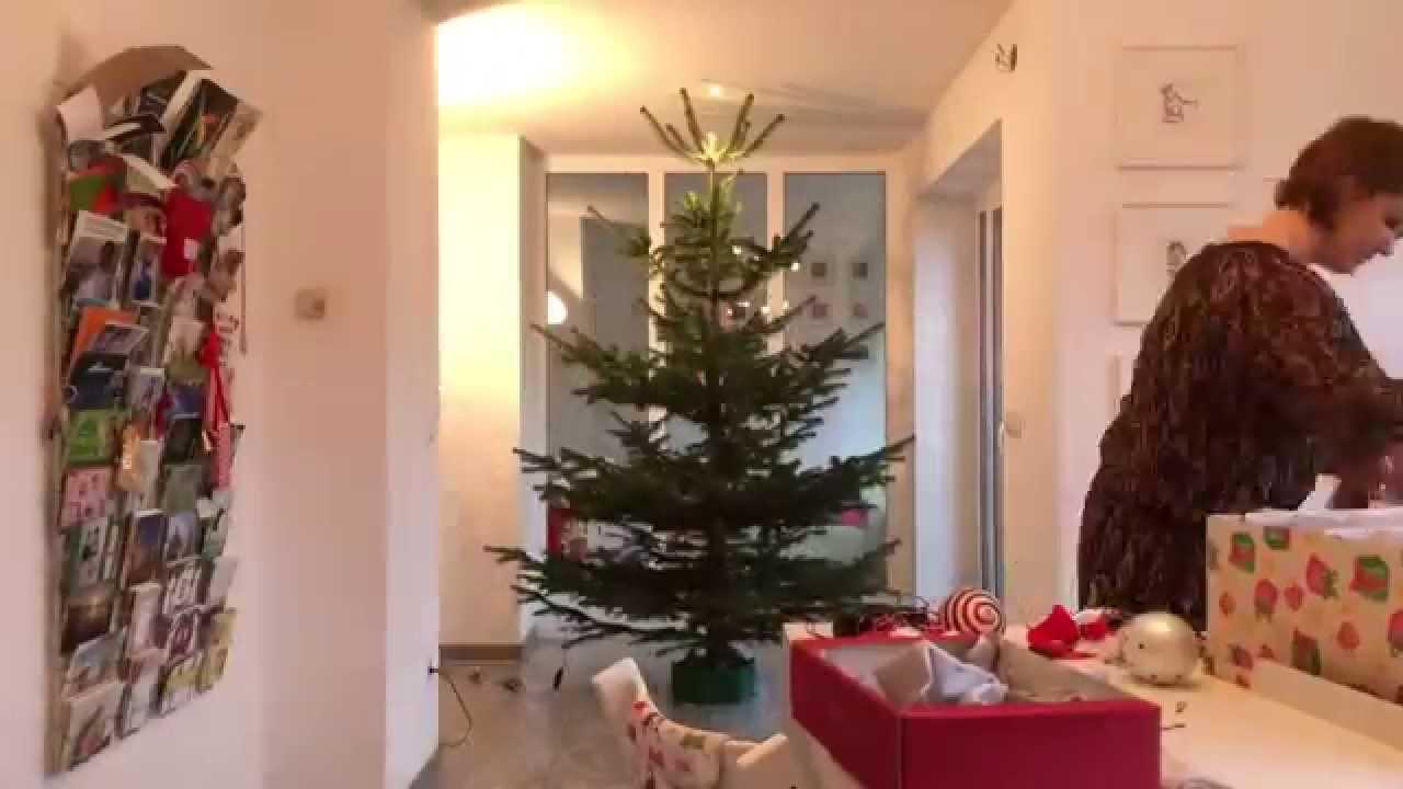 weihnachtsbaum schm cken im zeitraffer 2014 youtube. Black Bedroom Furniture Sets. Home Design Ideas