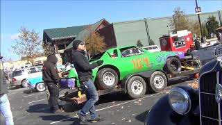 SKULL GARAGE 2018 (EP.33) A LITTLE CAR SHOW AND NOISE AND TOYS TOY RUN INFO