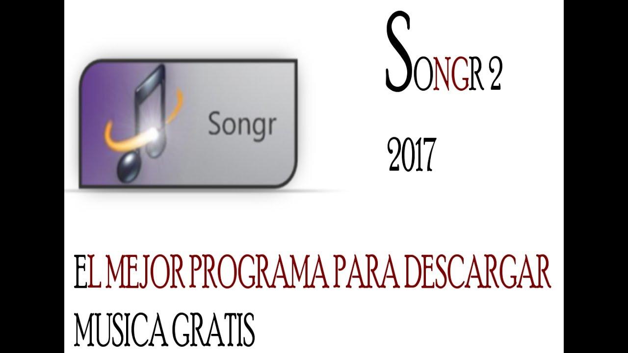 SONGR BAIXAR PROGRAMA