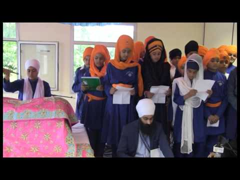 GURMAT CAMP DASHMESH SIKH ACADEMY FRANCE 18 08 2014