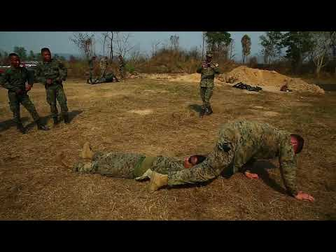 Cobra Gold 19: 31st MEU Marines partner with the Royal Thai Marine Corps during Combat Casualty