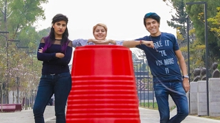 THE BEST FLIP CUP CHALLENGE | POLINESIO CHALLENGE LOS POLINESIOS