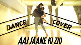 aaj jaane ki zid   sambhavna avinash   dance cover   aey dil hai mushkil