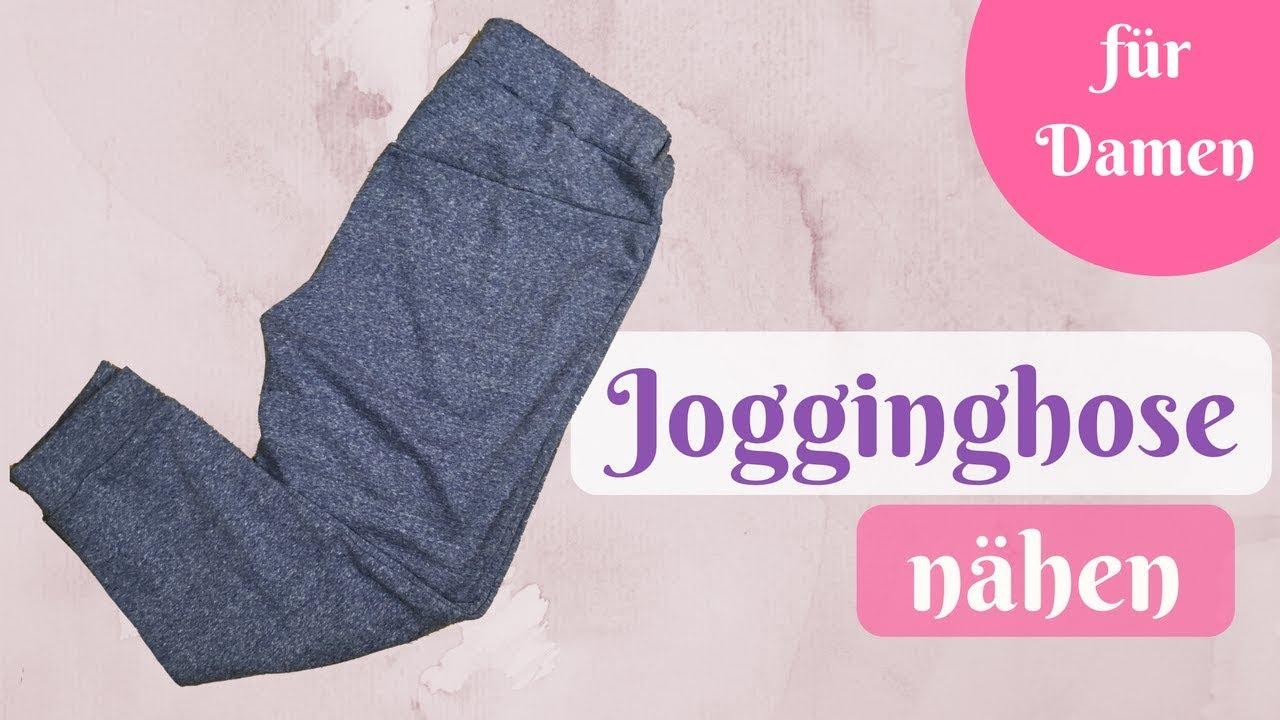 Jogginghose / Kuschelhose / Yogahose nähen - Nähanleitung für ...