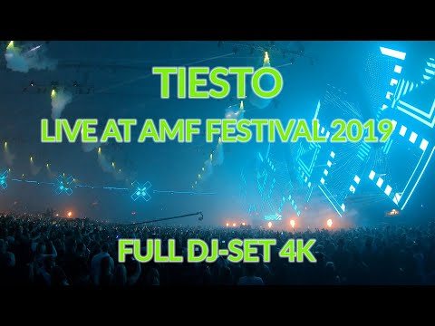 Tiesto @AMF Festival 2019 - Full DJ-Set 4k