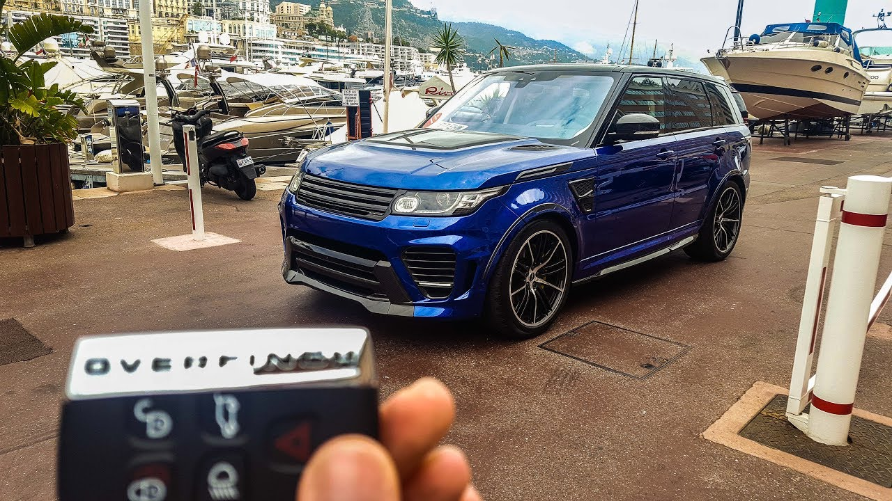 essai range rover sport svr 2017 overfinch avis. Black Bedroom Furniture Sets. Home Design Ideas
