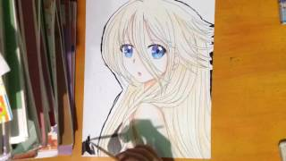 Speed Drawing : IA ( Vocaloid )/Tranh Vẽ Anime : IA ( Vocaloid )