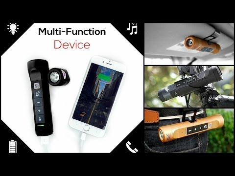 Demo: NuTorch - Multi-Function Music Torch and Powerbank 🔦🔋