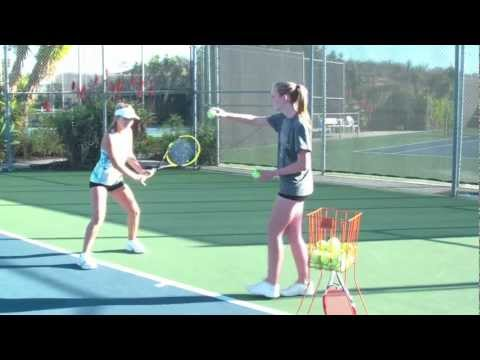 How to Hit a Backhand - Tennis