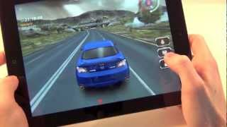 New Apple iPad 3 Gaming & Retina Display Test / iPad3 / 3rd generation