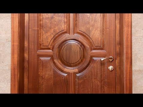 Изготовление межкомнатных дверей из массива красного дерева / To Make Doors Of Mahogany