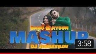 KARAOKE Sabo & Aysun - Mashup Sevgi (Azeri-Turkish) (DJ Jabrayilov) KARAOKE