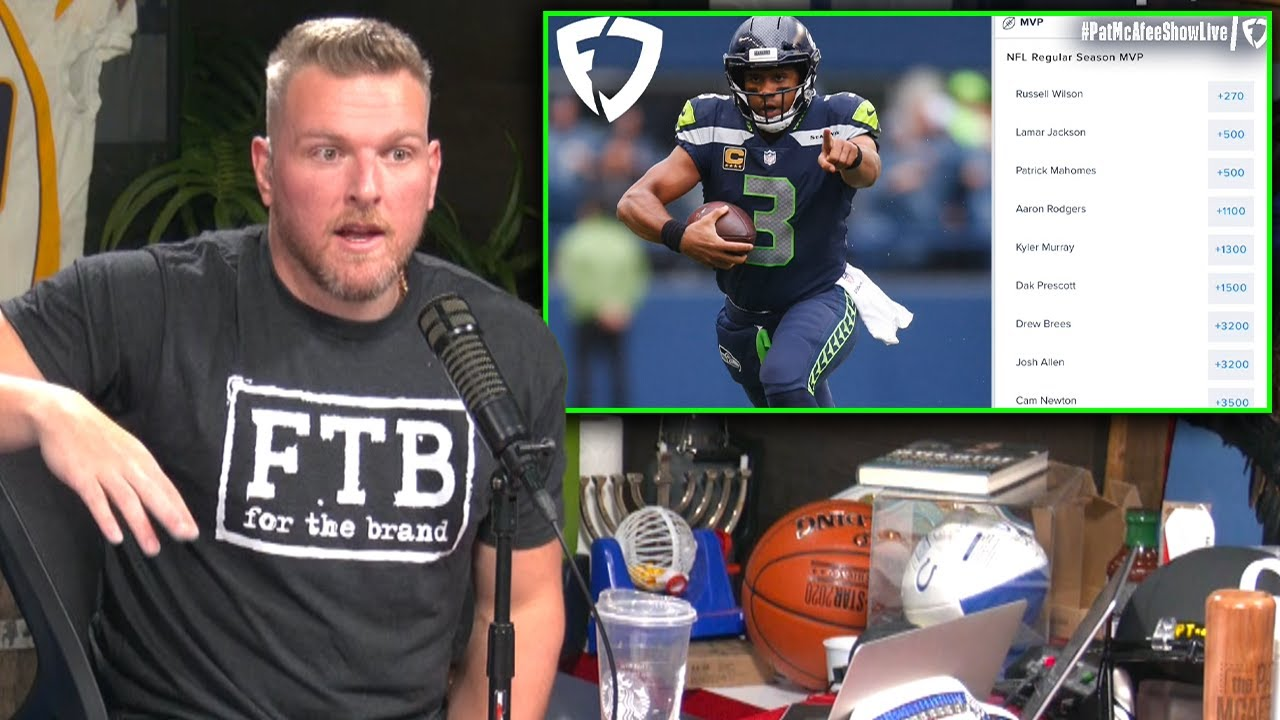 Pat McAfee Reacts To NFL MVP Odds Before Week 3
