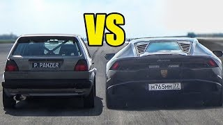 Sleepers vs Supercars Acceleration Sounds!🔥