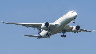 "AIRBUS A350 performs a WINGWAVE to say ""Hi!"" - ASKCargo 023#"