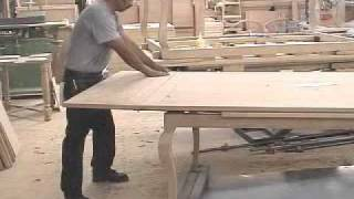 Fremarc Designs Chateau Draw Top Dinning Table.wmv
