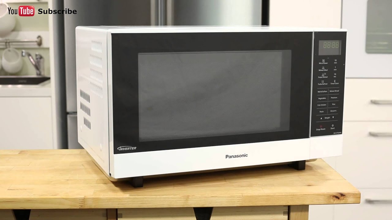 Panasonic Inverter Microwave Oven Nn Sf564wqpq Reviewed By Product Expert Liances Online