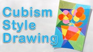 Art Exploration - Cubism Drawing