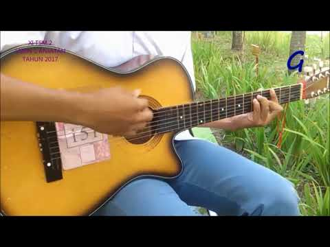 (Dewi perssik) Indah pada waktunya Tutorial dan caver gitar By. Danu
