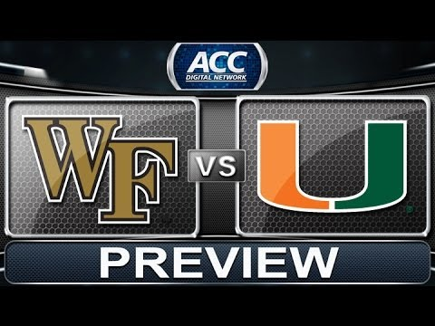 Preview | Wake Forest vs Miami | ACC Digital Network - YouTube