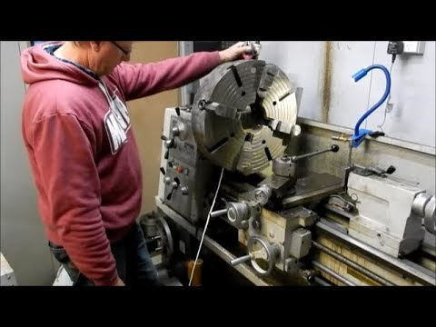 How To Extend The Swing Of A Lathe Part 1 Youtube