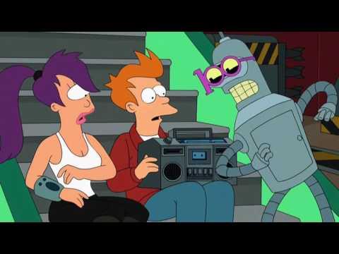 Жги, как Бендер Futurama Benders dance