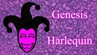 Genesis - Harlequin (lyrics)