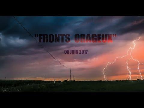 ORAGE FORT  08 JUIN 2017  Pays de Loire