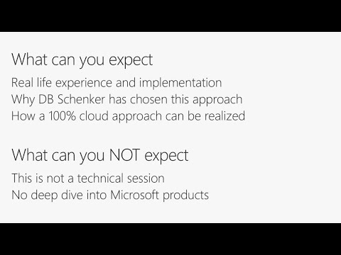 Real world experience from the field - Moving a global client infrastructure into the cloud