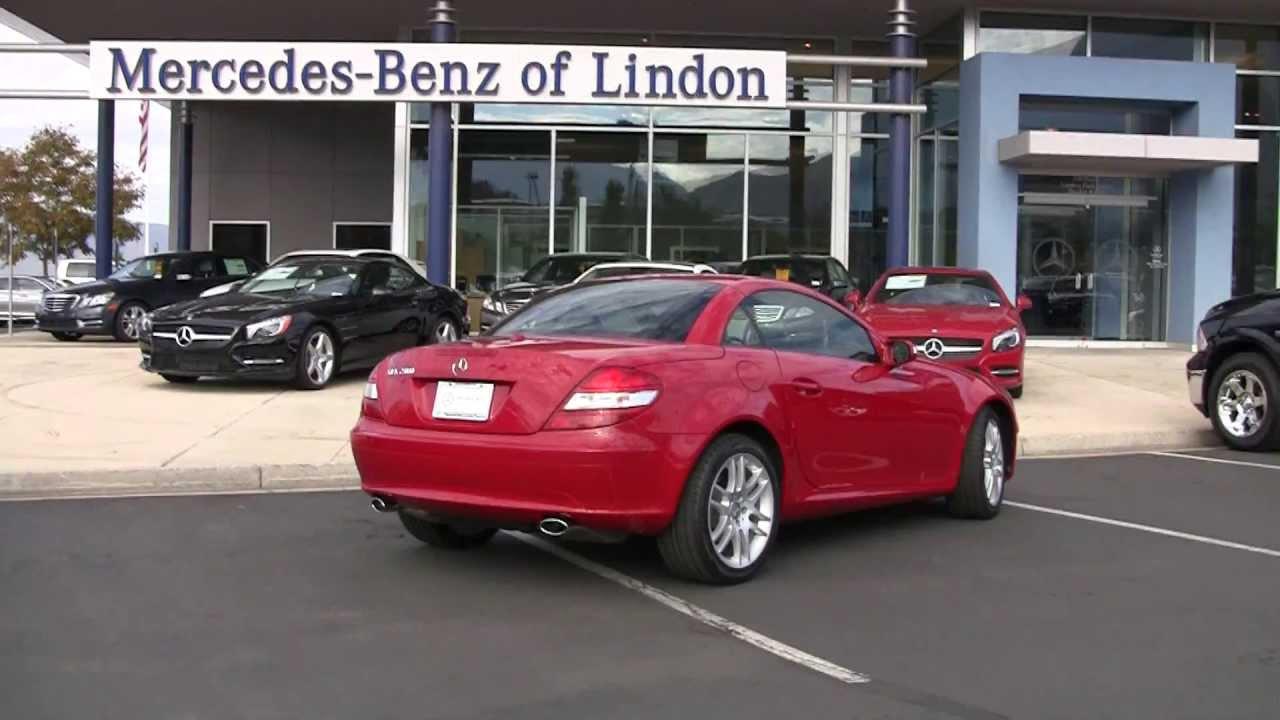 Mercedes benz slk280 roadster 2008 certified 8f176913t