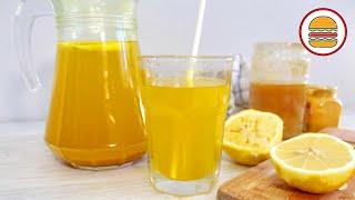 Витаминный ИМБИРНЫЙ НАПИТОК. Жиросжигающий чай с имбирем, лимоном и медом для похудения