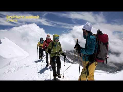 Exploring The Alps: Mont Blanc training