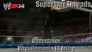 WWE 2K14 Superstar Threads - Undertaker Wrestlemania 13 Attire
