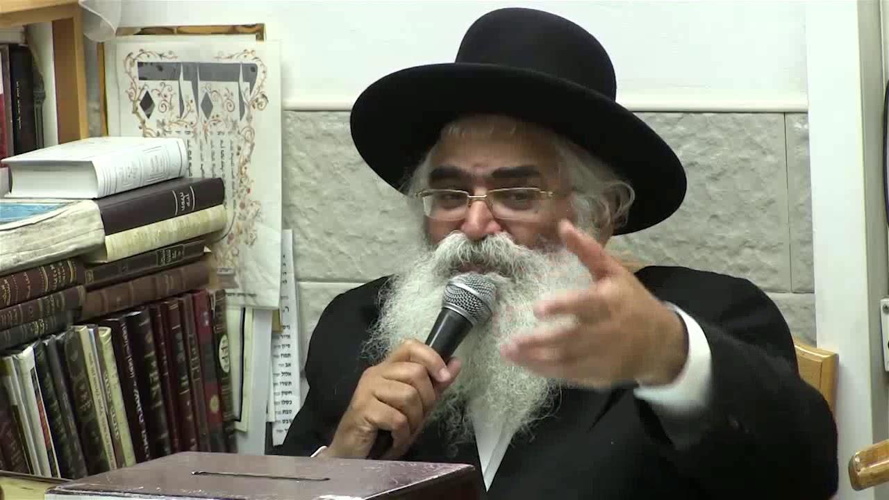 הרב יורם אברג'ל-המסר היומי-השבת של הבן איש חי-י''א אלול תשע''ט