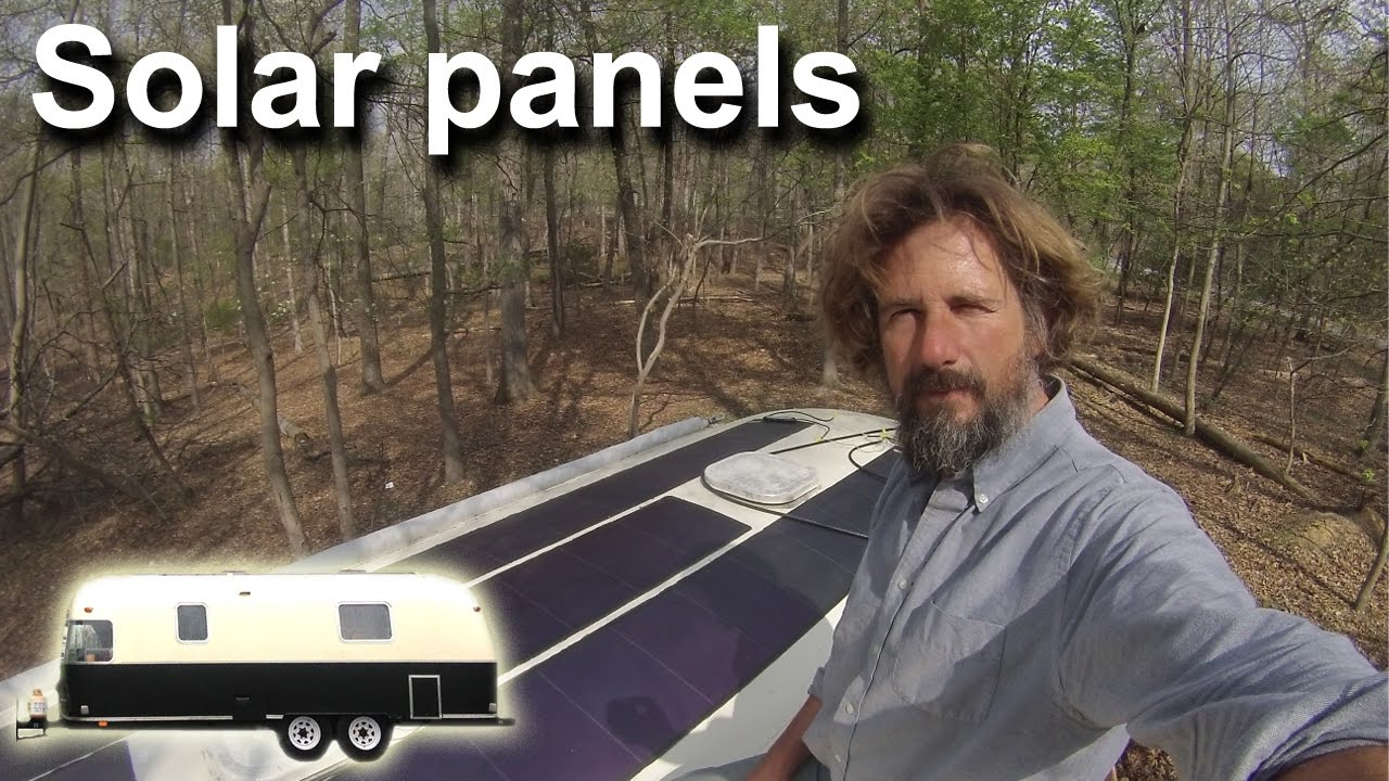 Airstream Solar Panels - Travels With Geordie #18