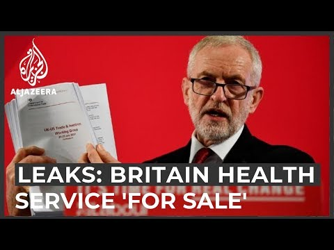 Britain's health service is for sale, leaked trade docs suggest thumbnail