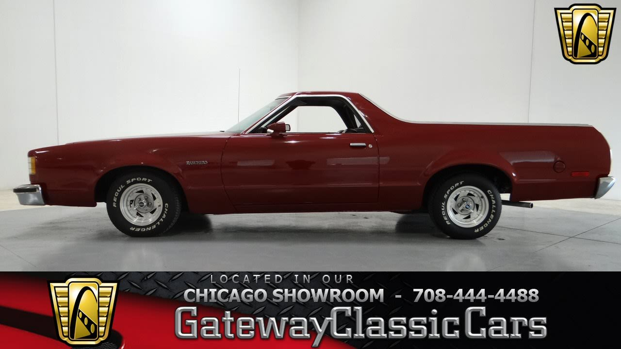 1979 ford ranchero gateway classic cars chicago 737 - 1979 Ford Ranchero