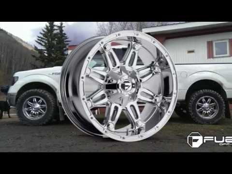 Fuel Hostage D529 PVD Chrome Wheels