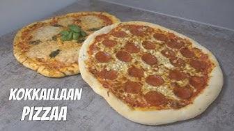 Kokkaillaan TÄYDELLISTÄ Pizzaa!