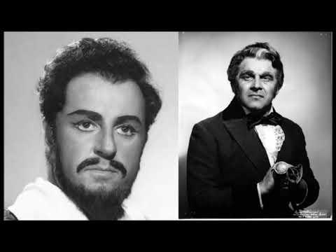 """Carlo Bergonzi & Mario Sereni """"Orrida e questa notte"""" Lucia di Lammermoor"""