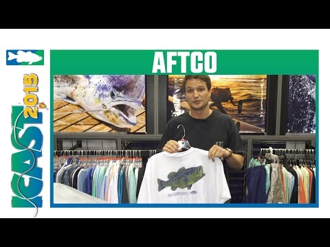 Aftco New Fishing Performance Shirts | ICAST 2015